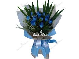blue roses delivery flower delivery philippines flower shop philippines 1 dozen