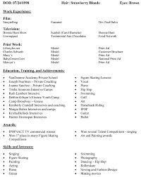 Ballet Resume Sample by Good Resume Samples For Freshers Html Templates Reddit Web Resume