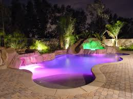 Inground Pools For Small Backyards by Beach Entry Pools Design And Music Features For Your Custom