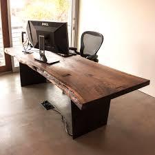 Live Edge Computer Desk Taylor Donsker Design
