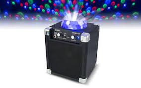 ion bluetooth speaker with lights ion audio house party bluetooth speaker with disco ball light