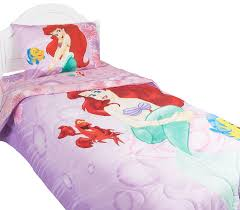 amazon com disney u0027s the little mermaid bedding collection home