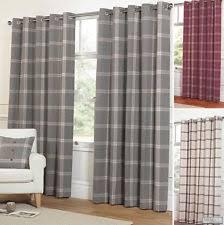 Heavy Grey Curtains Wool Curtains Ebay