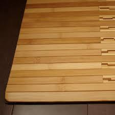 choose bamboo bath mat comfortable u2014 the homy design