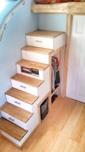 tiny house on wheels loft privacy google search stairs