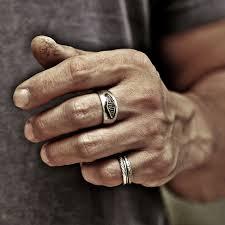 mens monogram ring monogram ring word ring initial ring name ring mens ring