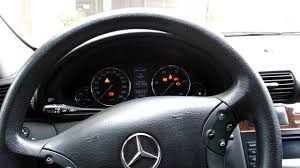 reset automatic transmission on a mercedes youtube