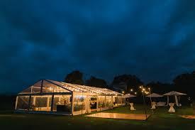 Hire Outdoor Lighting - outdoor timber dance floor festoon lighting marquee wedding