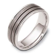 titanium wedding bands for men mens titanium wedding rings joseph jewelry bellevue seattle