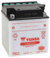 amazon com yuasa yuam2230c yb30cl b battery automotive