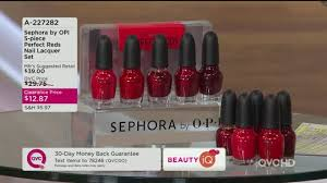sephora by opi 5 piece perfect reds nail lacquer set page 1