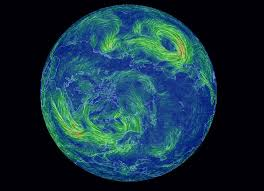 map of erth hypnotically beautiful real time wind map of earth created by