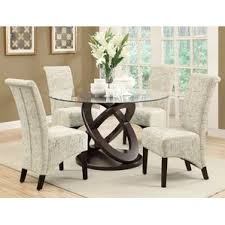Glass Kitchen  Dining Room Sets Youll Love Wayfair - Glass dining room