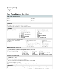 new employee orientation checklist template small business