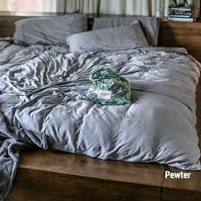 Bamboo Bedding Set Bamboo Sheets Set Pewter Silk Sheets Quilt Cover And