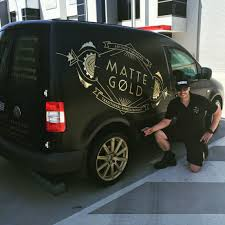my work van 2005 caddy satin black wrap custom vinyl