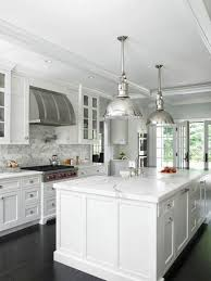 Kitchens Idea Tremendeous All White Kitchens Fancy Ideas Hauzzz Interior Modern