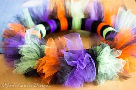 Halloween Wreath Stunning Easy To Make Tutu Halloween Wreath Tutorial For Your