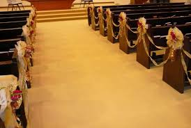 church weddings decorations wedding decorations