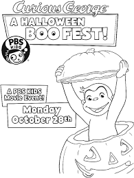 curious george halloween boo fest airs october 28th