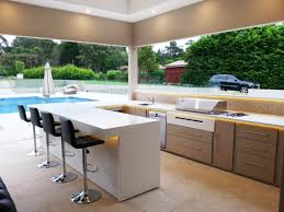 Cabinets For Outdoor Kitchen Kitchen Outdoor Kitchen Designs With Pool White Kitchen Island