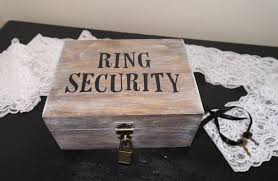 ring security wedding ring security ring bearer wedding ring box ring bearer ring box