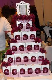 ornament wedding favors display