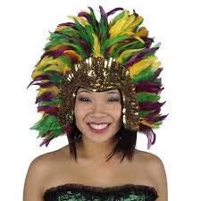 mardi gras headband mardi gras shop by occassion feather products
