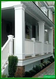 exterior railings handrails for stairs porches decks porch railing