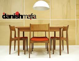 danish modern dining room furniture mid century danish modern teak dining complete set table u0026 6