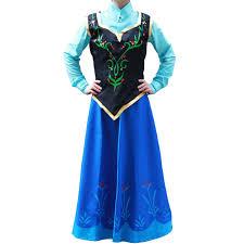 Anna Frozen Costume Frozen Costume Princess Anna Costume Anna Dress Cosplay