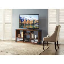 Tv Stands For Flat Screen Tvs Landon Tv Stand With Cube Organizer For Flat Panel Tv U0027s Up To 45