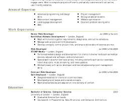 Web Resume Examples by Web Architect Resume