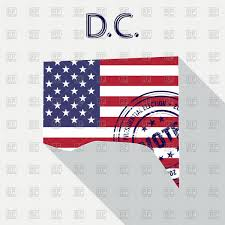 File Map Of Washington State state of washington d c map with flag and presidential day vote