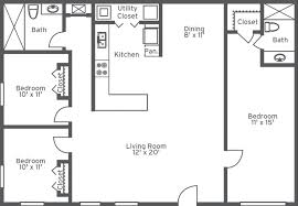 bath floor plans floor plans 2 bedroom bath house functionalities net