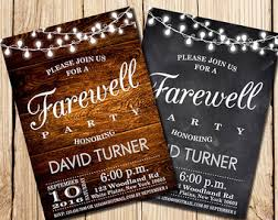 farewell party invitation farewell party invitation farewell invitation by happypartystudio