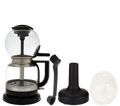 Kitchen Aid Accessories by Kitchenaid Siphon Coffee Brewer With Accessories Page 1 U2014 Qvc Com