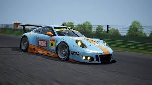 gulf racing porsche 911 gt3 r gulf racing with pacific racedepartment