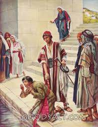 Blind Man At Bethsaida Pictures Of Jesus Heals The Blind Man 59 Images