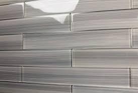 Gray Glass Subway Tile Backsplash - gray glass tile backsplash home design ideas