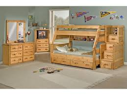 Bunk Bed With Dresser Trendwood Bunkhouse Twin Full High Sierra Bunk Bed Conlin U0027s