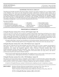 physician assistant resume template 8 best images of physician assistant new graduate resume physician