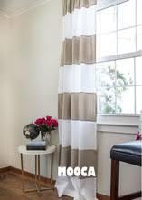 Striped Curtain Panels Horizontal Online Get Cheap Striped Curtains Horizontal Aliexpress Com