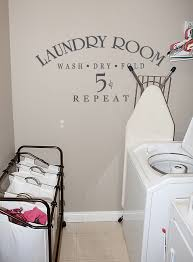 Laundry Room Decorating Ideas by Wall Decor For Laundry Room Dirtiest Clothes Laundry Room Decal