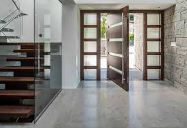 Frosted Glass Exterior Doors by Contemporary Exterior Doors System Latest Trends Of Contemporary