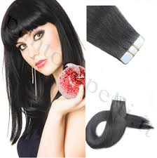 Red Tape Hair Extensions by Tape Remy Human Hair Extensions 100g Pu Skin Weft 40pcs Lot Aaaa