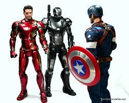 Iron Man Toys Captain America Civil War Iron Man Mark 46 Figure Review