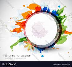 Futuristic Design by Futuristic Design Royalty Free Vector Image Vectorstock