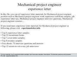 Electrical Engineering Resume Sample Pdf Sample Resume Of Experienced Mechanical Engineer Experience