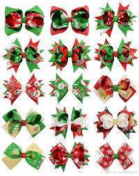 christmas ribbon bows christmas new style grosgrain ribbon bows with clip boutique bow